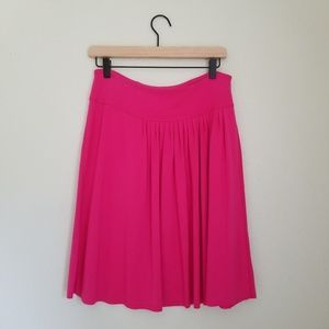 Lululemon Pink Asymmetric Pleated Every Day Skirt